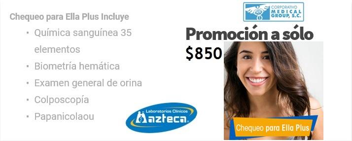 CHECK UP FEMENINO AZTECA MG