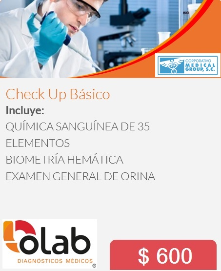 CHECK UP BASICO OLAB MG