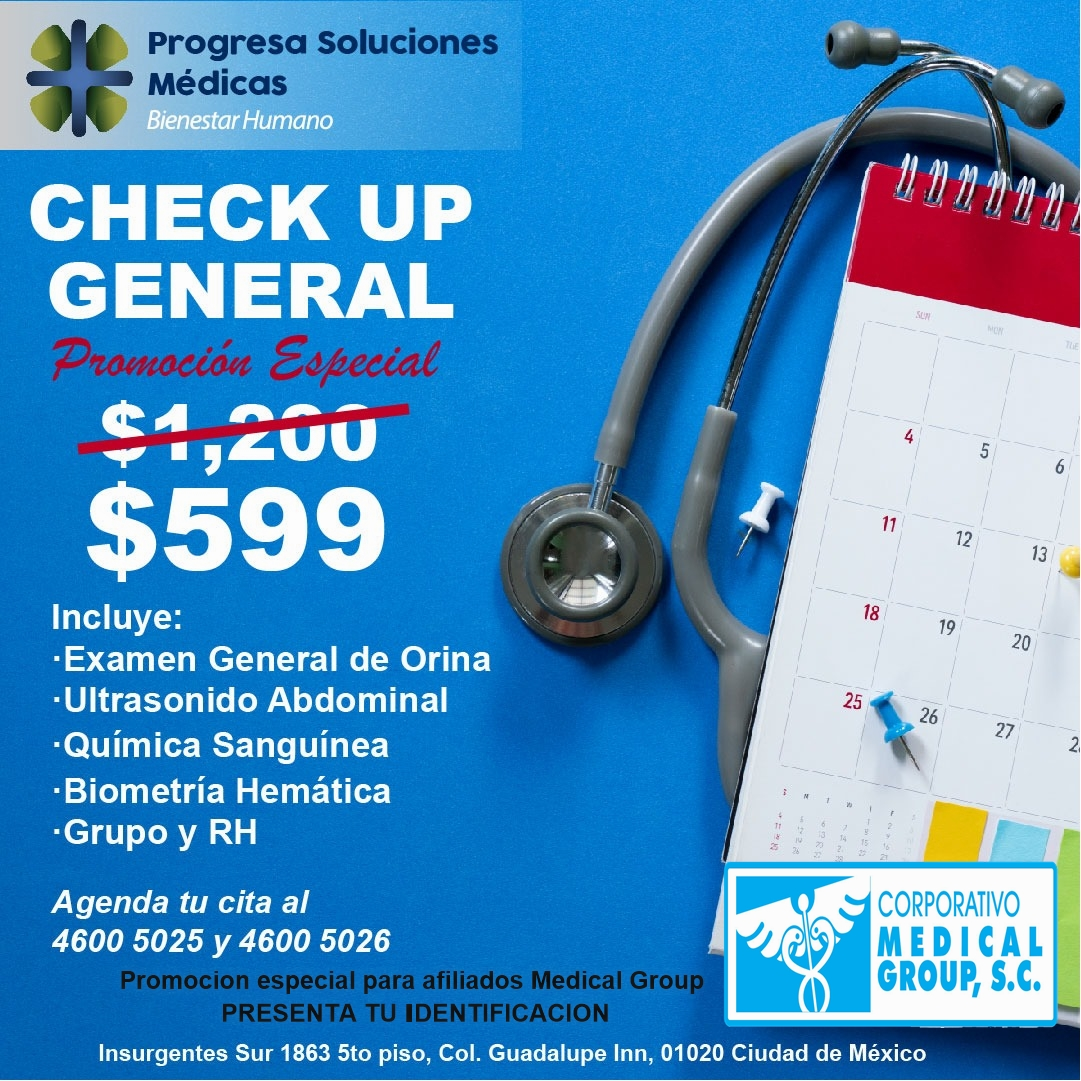 CHECK UP GENERAL Medical Group