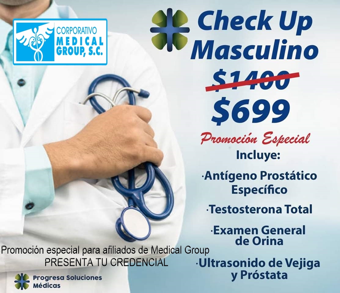 CHECK UP MASCULINO Medical Group