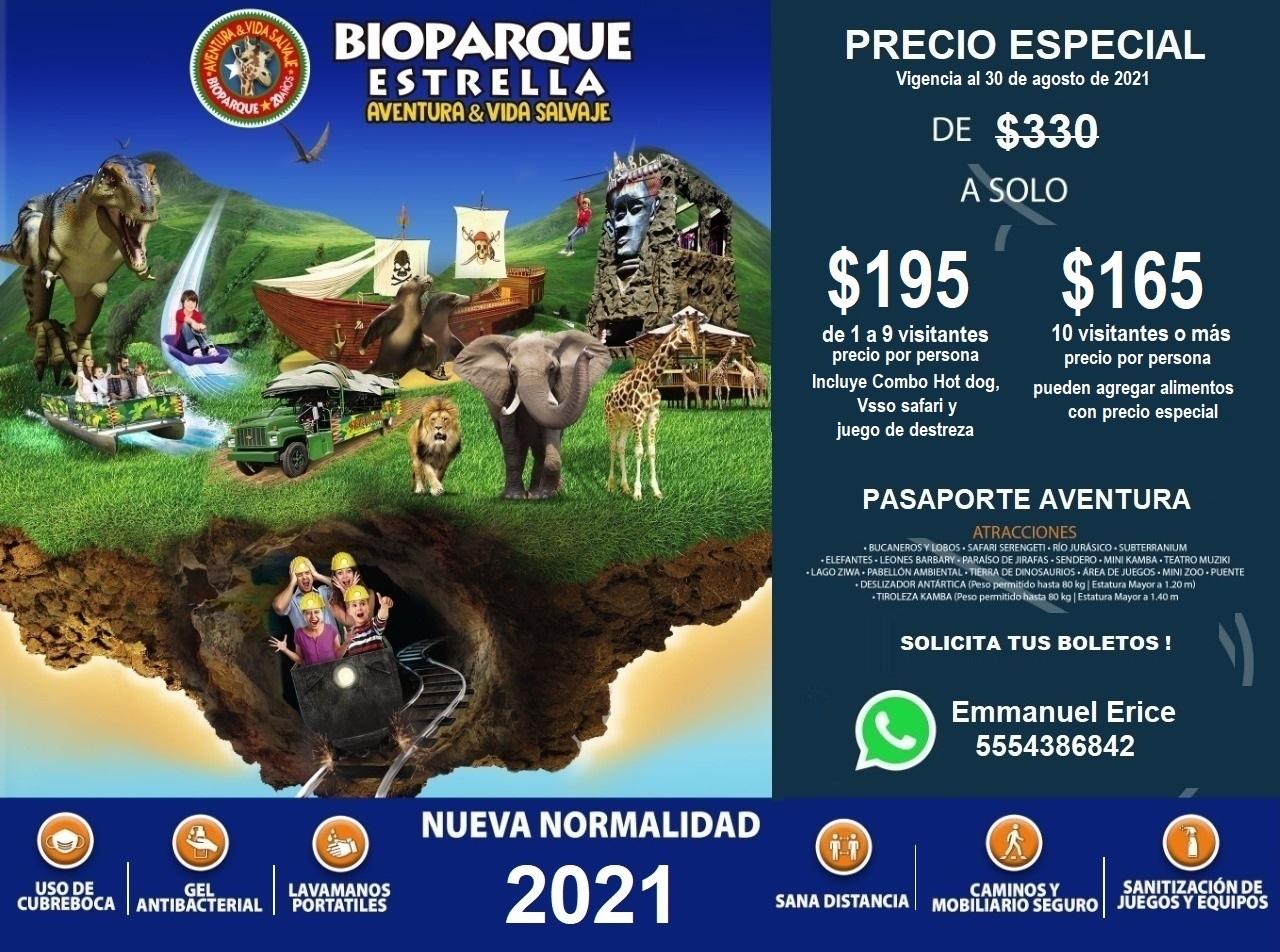 Bioparque Promocion Julio