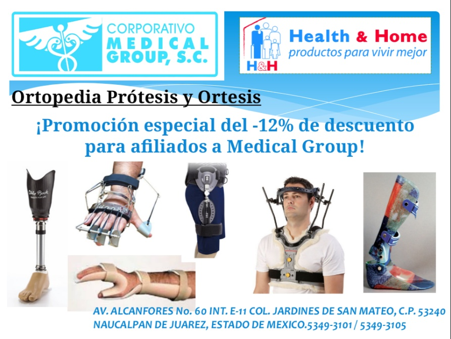 Protesis y ortesis Medical Group