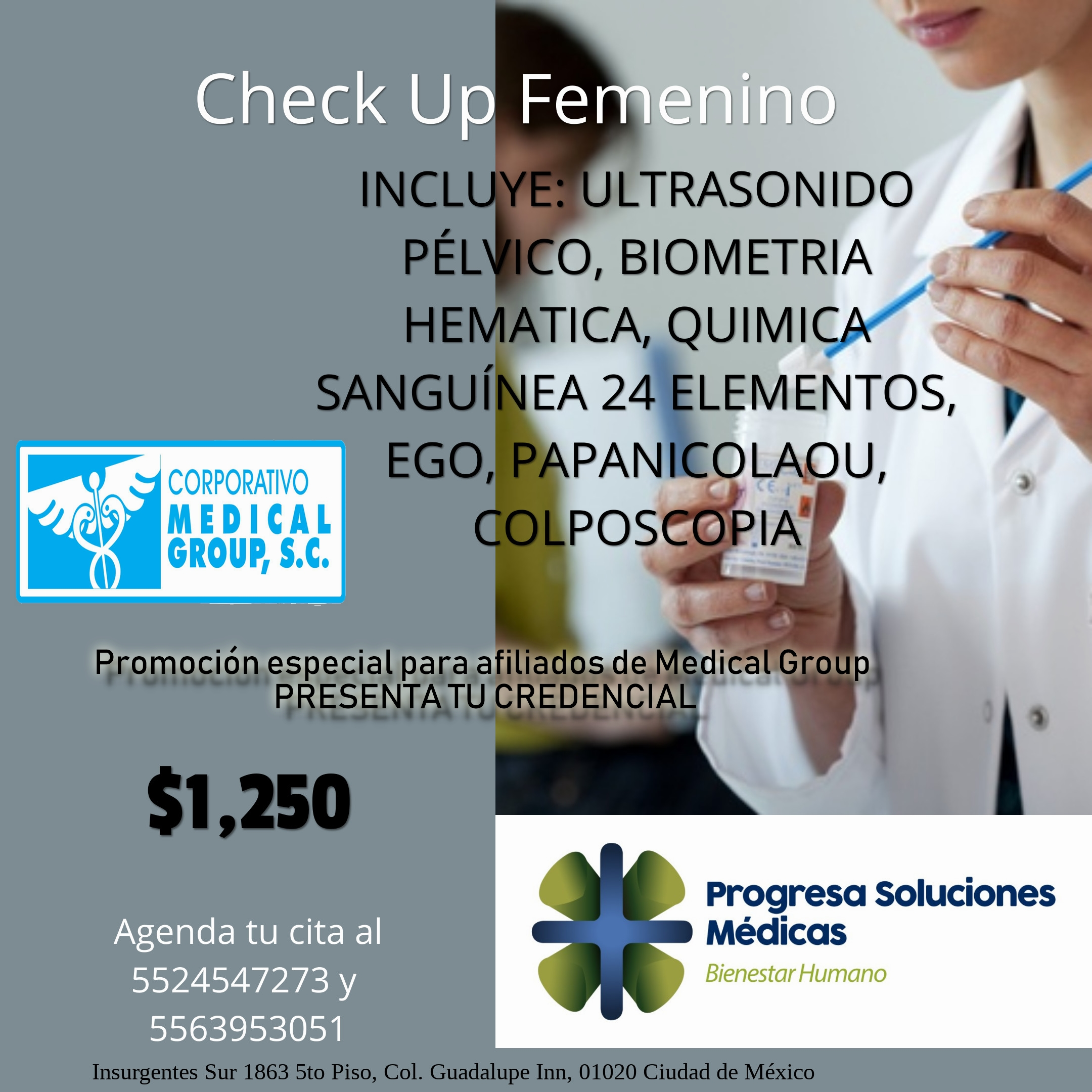 Check Up Femenino Medical Group 1